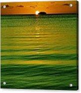 Key Largo Sundown Acrylic Print