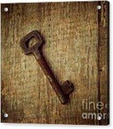 Key To My Secret Acrylic Print by Lorraine Heath