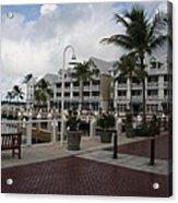 Key West Bayfront  Acrylic Print