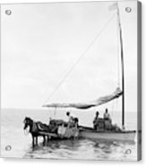 Key West Cart & Boat, C1890 Acrylic Print