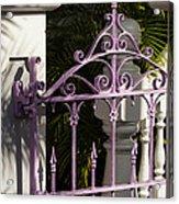 Key West Charm Acrylic Print