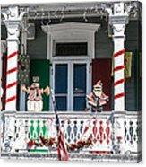 Key West Christmas Decorations 1 Acrylic Print