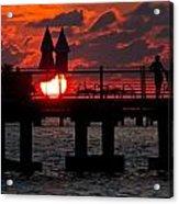 Key West Florida Sunrise Acrylic Print