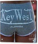 Key West Hot Pants At The Beach Acrylic Print