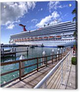Key West Paradise Acrylic Print