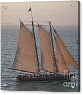 Sail Boat - Key West Florida Acrylic Print