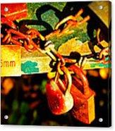 Keys Of Love And Life Acrylic Print