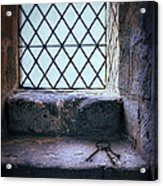 Keys On Stone Windowsill Acrylic Print