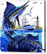 Keys Sail Acrylic Print