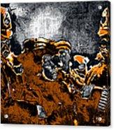 Keystone Cops - 20130208 Acrylic Print by Wingsdomain Art and Photography