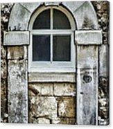 Keystone Window Acrylic Print by Heather Applegate