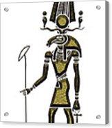 Khensu - God Of Ancient Egypt Acrylic Print
