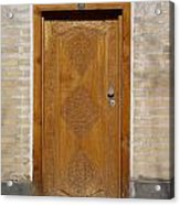 Khiva Door No.12 Acrylic Print