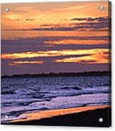 Kiawah Sunset Acrylic Print