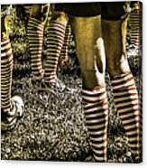 Kickball Socks Acrylic Print