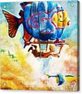 Kiddography Cover By Tom Kidd Acrylic Print
