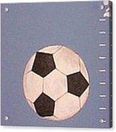 Kids And Soccer Acrylic Print
