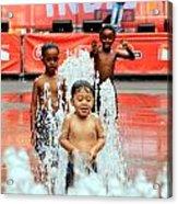 Kids Summer Fun Acrylic Print