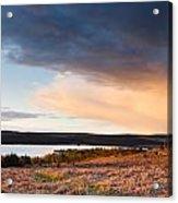 Kielder At Sunset Acrylic Print