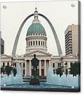 Kiener Plaza - St Louis Missouri Acrylic Print