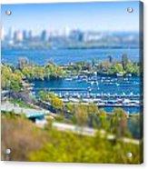 Kiev's Marina Acrylic Print