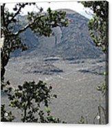 Kilauea Iki Crater - Big Island Acrylic Print