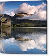 Kilchurn Castle Acrylic Print by Guido Tramontano Guerritore