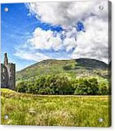 Kilchurn Castle Ruin Acrylic Print