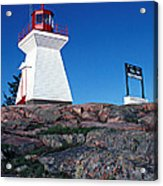 Killarney Ontario Lighthouse Acrylic Print