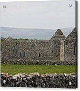 Kilmacduagh Church Ruin Acrylic Print
