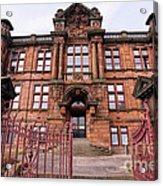 Kilmarnock School Acrylic Print