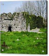 Kilmore Church Ruins - Founded By St Patrick - Ballina Co Mayo Acrylic Print