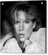 Kim Basinger Acrylic Print