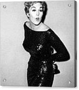 Kim Novak Holding Oscar, Circa 1950s Acrylic Print