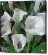 Kim's Flowers Acrylic Print