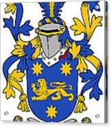 Kindelan Coat Of Arms Irish Acrylic Print