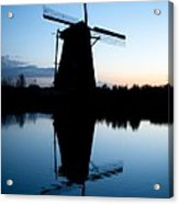Kinderdijk Dawn Acrylic Print
