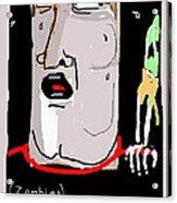 Kinemortophobia Acrylic Print