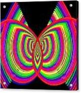 Kinetic Rainbow 27 Acrylic Print