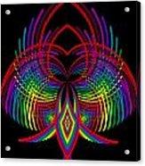 Kinetic Rainbow 30 Acrylic Print