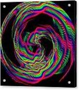 Kinetic Rainbow 36 Acrylic Print