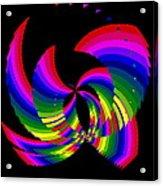 Kinetic Rainbow 51 Acrylic Print