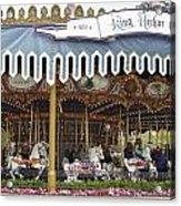 King Arthur Carrousel Fantasyland Disneyland Acrylic Print