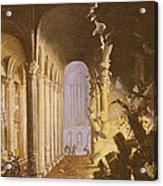 King Asa Of Judah Destroying The Statue Acrylic Print by Francois de Nome