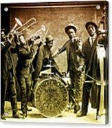 King Carter Jazzing Orchestra Acrylic Print