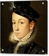 King Charles Ix Of France Acrylic Print