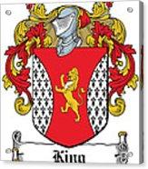 King Coat Of Arms I Dublin  Acrylic Print