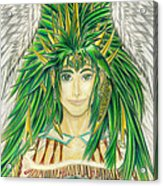 King Crai'riain Portrait Acrylic Print