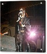 King Diamond Acrylic Print