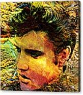 King Elvis Acrylic Print
